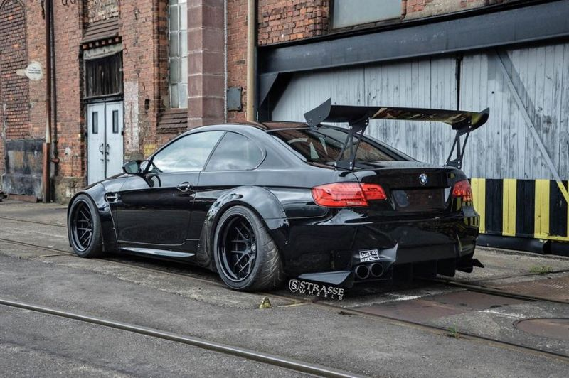 Liberty Walk BMW E92 M3 Kompressor Strasse Wheels SM7 Kompressor Tuning 1 Liberty Walk BMW E92 M3 Kompressor auf Strasse Wheels Alu's