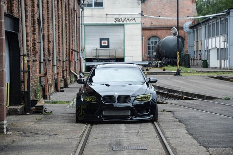 Liberty Walk BMW E92 M3 Kompressor Strasse Wheels SM7 Kompressor Tuning (5)