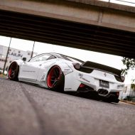 Liberty Walk Performance Ferrari 458 Italia Forgiato 1 190x190 Fotostory: Liberty Walk Performance Ferrari 458 Italia in Weiß