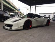 Liberty Walk Performance Ferrari 458 Italia Wei%C3%9F Tuning 2016 3 190x143 Fotostory: Liberty Walk Performance Ferrari 458 Italia in Weiß