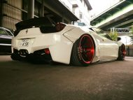 Liberty Walk Performance Ferrari 458 Italia Wei%C3%9F Tuning 2016 6 190x143 Fotostory: Liberty Walk Performance Ferrari 458 Italia in Weiß