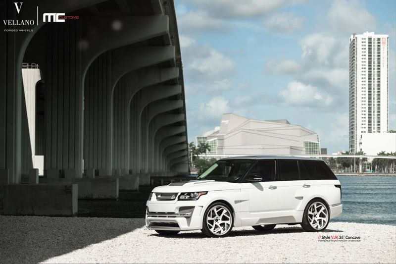 MC Customs Hamann Range Rover L405 Tuning Hamann Mystere Vellano VJK 1 Full House am MC Customs Hamann Range Rover L405