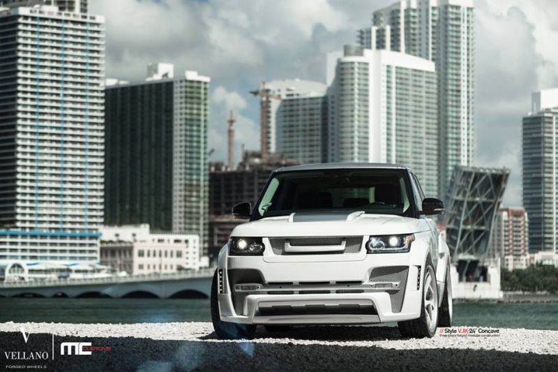 MC Customs Hamann Range Rover L405 Tuning Hamann Mystere Vellano VJK 2 Full House am MC Customs Hamann Range Rover L405