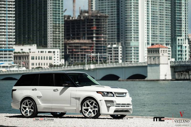 MC Customs Hamann Range Rover L405 Tuning Hamann Mystere Vellano VJK 3 Full House am MC Customs Hamann Range Rover L405