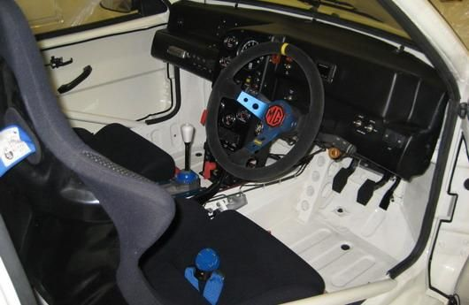MG Metro 6R4 tuning rallycar Colin McRaea with 400PS 4 Carstripping - refrain from weight-bearing parts
