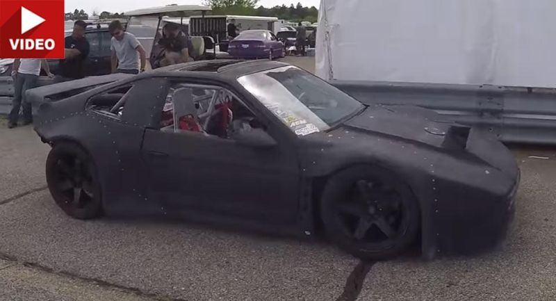 Mad Max Style und 750PS im Pontiac Fiero Turbo Video: Mad Max Style und 750PS im Pontiac Fiero Turbo