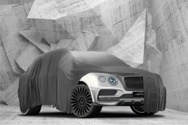 Mansory Carbon Widebody Kit 2016 Tuning Bentley Bentayga 1 Mansory Widebody Kit für den neuen Bentley Bentayga