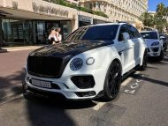 Mansory Carbon Widebody Kit 2016 Tuning Bentley Bentayga 2 190x143 Mansory Widebody Kit für den neuen Bentley Bentayga