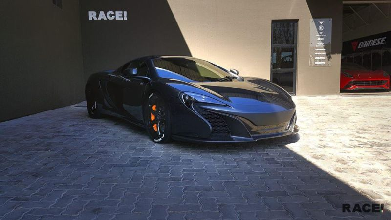 McLaren 650S Tuning RACE South Africa Orange Schwarz 2016 3 Dezent   McLaren 650S vom Tuner RACE! South Africa