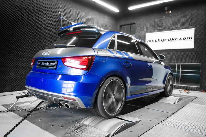 Mcchip DKR Audi A1 S1 Chiptuning 304PS 437 NM 1 Giftzwerg   Mcchip DKR Audi A1 S1 mit 304PS & 437 NM