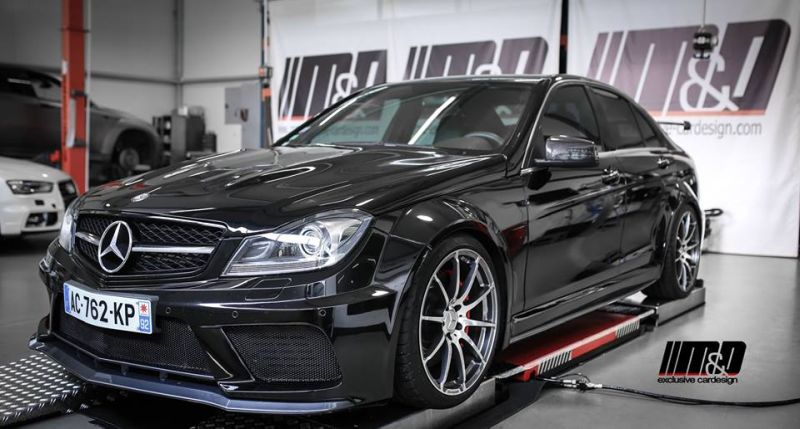 Mercedes AMG C63 Limousine W204 Tuning MD exclusive cardesign 3 Fotostory: Mercedes AMG C63 Limousine by M&D exclusive cardesign