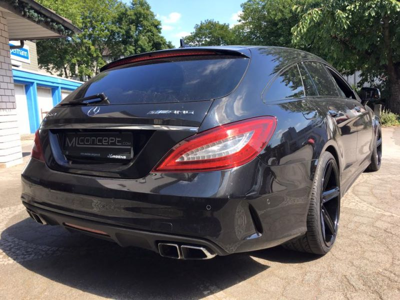 Mercedes Benz CLS63 AMG S Modell 20 Zoll Oxigin 18 Tuning HR 1 Mercedes Benz CLS63 AMG S Modell auf 20 Zoll Oxigin 18 Alu's