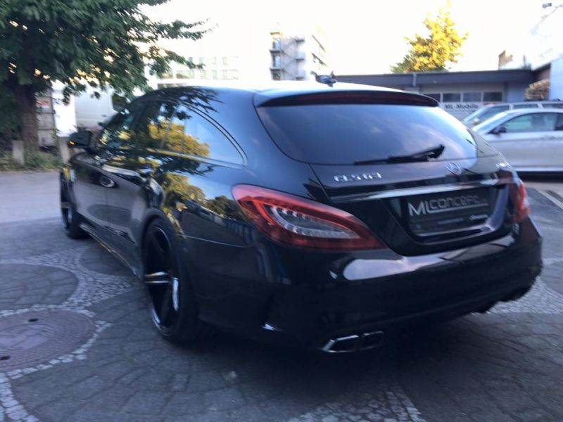 Mercedes Benz CLS63 AMG S-Modell 20 Zoll Oxigin 18 Tuning H&R (11)