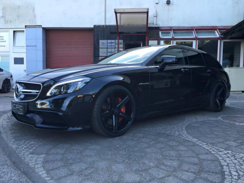 Mercedes Benz CLS63 AMG S-Modell 20 Zoll Oxigin 18 Tuning H&R (12)