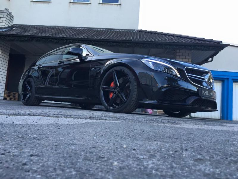 Mercedes Benz CLS63 AMG S-Modell 20 Zoll Oxigin 18 Tuning H&R (14)