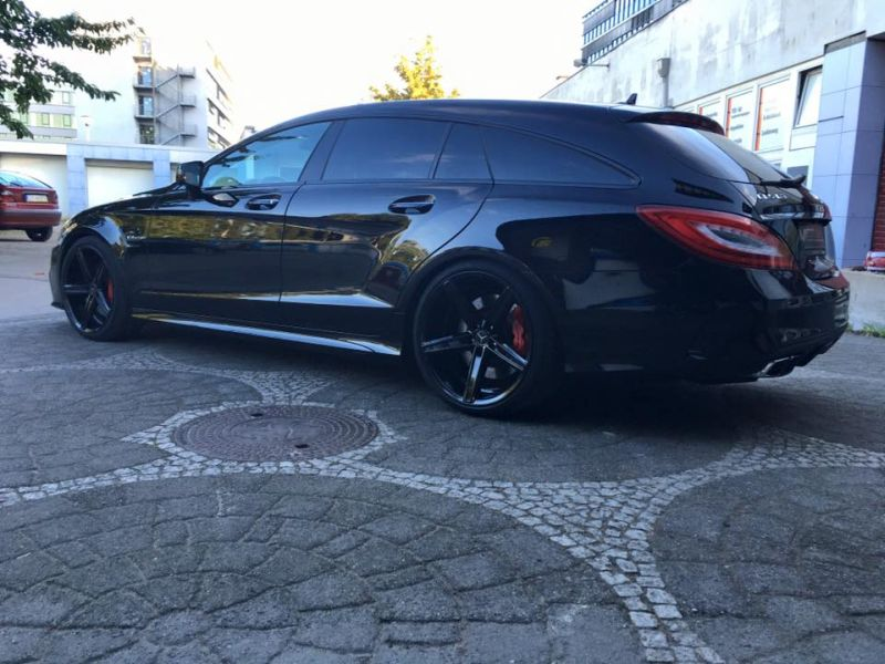 Mercedes Benz CLS63 AMG S-Modell 20 Zoll Oxigin 18 Tuning H&R (15)