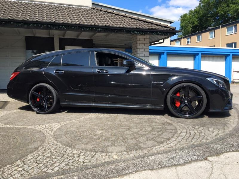 Mercedes Benz CLS63 AMG S-Modell 20 Zoll Oxigin 18 Tuning H&R (17)