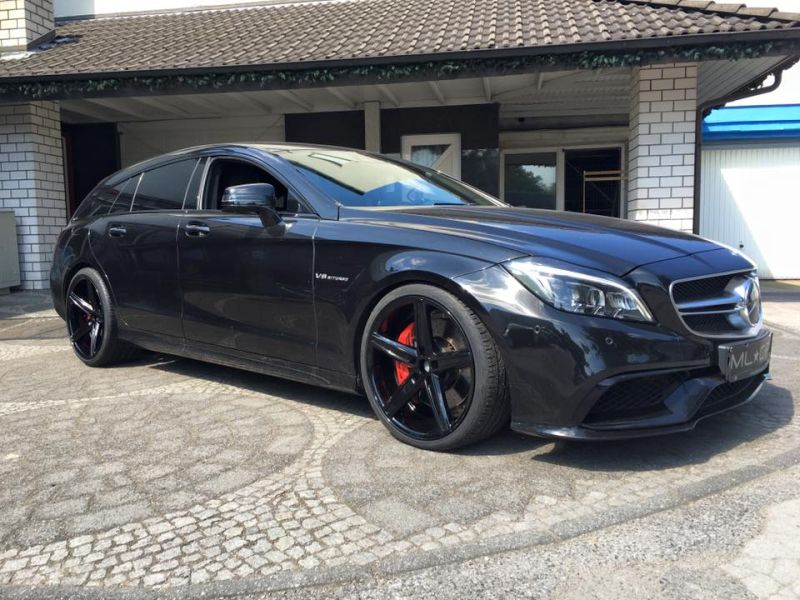 Mercedes Benz CLS63 AMG S-Modell 20 Zoll Oxigin 18 Tuning H&R (18)