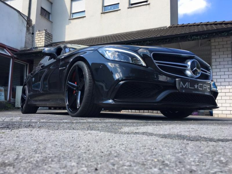 Mercedes Benz CLS63 AMG S Modell 20 Zoll Oxigin 18 Tuning HR 19 Mercedes Benz CLS63 AMG S Modell auf 20 Zoll Oxigin 18 Alu's