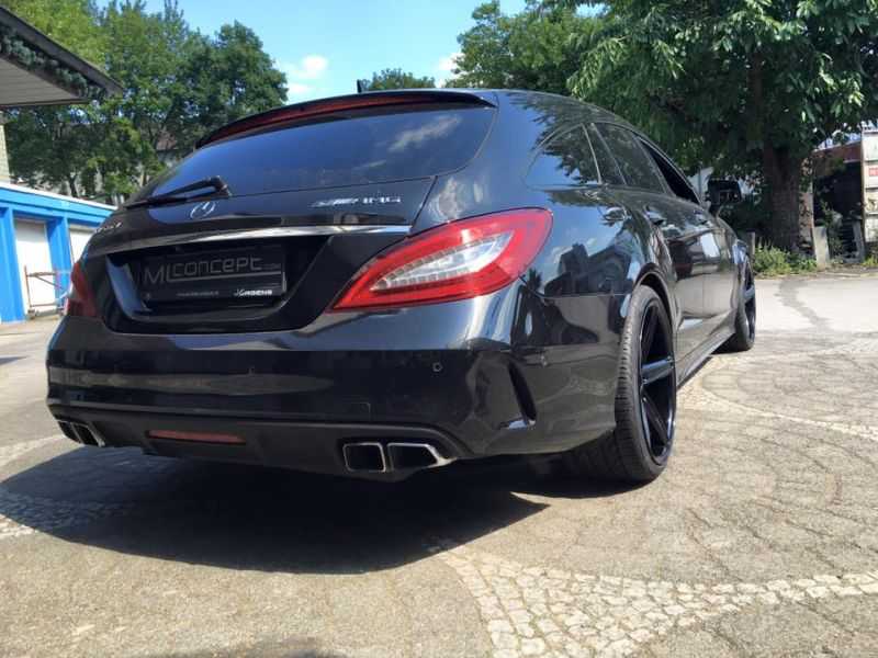 Mercedes Benz CLS63 AMG S-Modell 20 Zoll Oxigin 18 Tuning H&R (2)