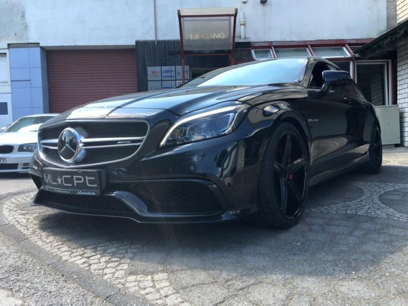Mercedes Benz CLS63 AMG S-Modell 20 Zoll Oxigin 18 Tuning H&R (4)
