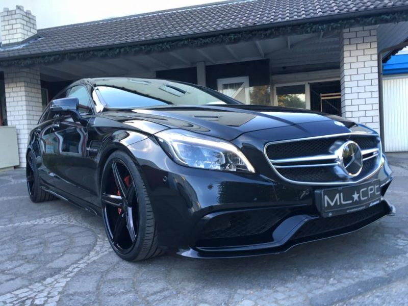 Mercedes Benz CLS63 AMG S-Modell 20 Zoll Oxigin 18 Tuning H&R (5)