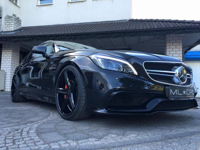 Mercedes Benz CLS63 AMG S-Modell 20 Zoll Oxigin 18 Tuning H&R (6)