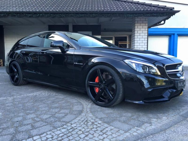 Mercedes Benz CLS63 AMG S-Modell 20 Zoll Oxigin 18 Tuning H&R (7)