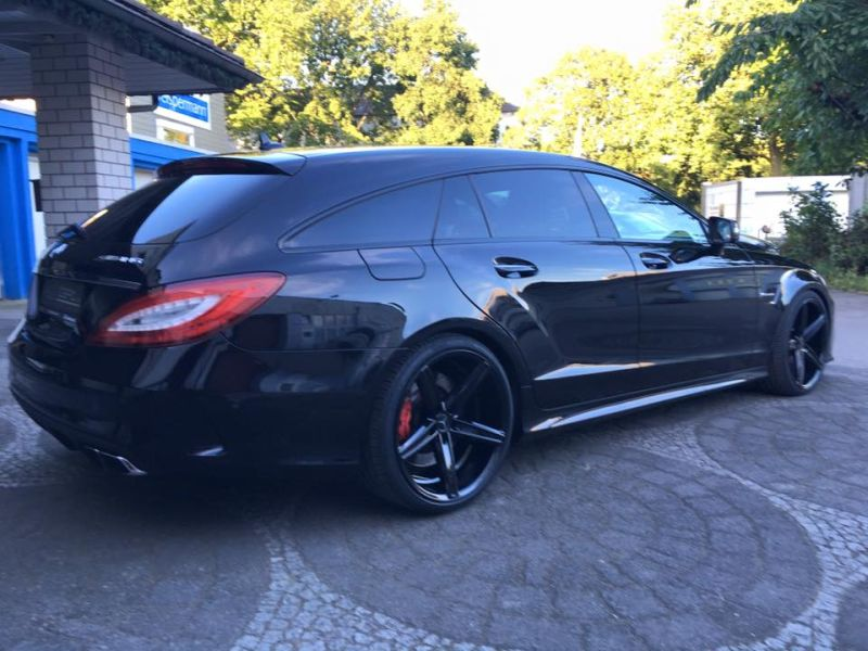 Mercedes Benz CLS63 AMG S-Modell 20 Zoll Oxigin 18 Tuning H&R (9)