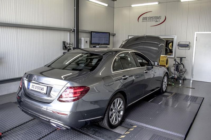 Mercedes Benz E 220d W213 Chiptuning Box PowerControl SENT DTE 3 Mercedes Benz E 220d (W213) mit 218PS & 449NM by DTE