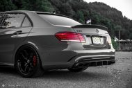 Mercedes Benz E63 AMG W212 Tuning HRE R101 10 190x127 Potente Limo   Mercedes Benz E63 AMG auf HRE R101 Alufelgen