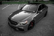 Mercedes Benz E63 AMG W212 Tuning HRE R101 2 190x127 Potente Limo   Mercedes Benz E63 AMG auf HRE R101 Alufelgen