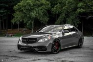 Mercedes Benz E63 AMG W212 Tuning HRE R101 6 190x127 Potente Limo   Mercedes Benz E63 AMG auf HRE R101 Alufelgen