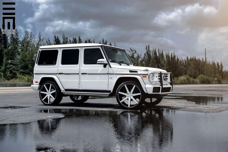 Mercedes-Benz G550 Niche Road Wheels Tuning Exclusive Motoring (10)