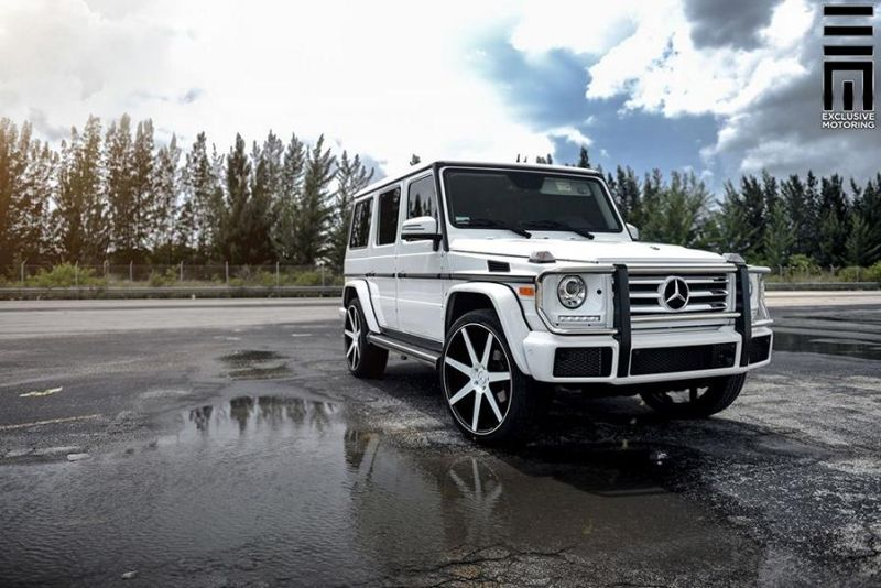 Mercedes-Benz G550 Niche Road Wheels Tuning Exclusive Motoring (11)