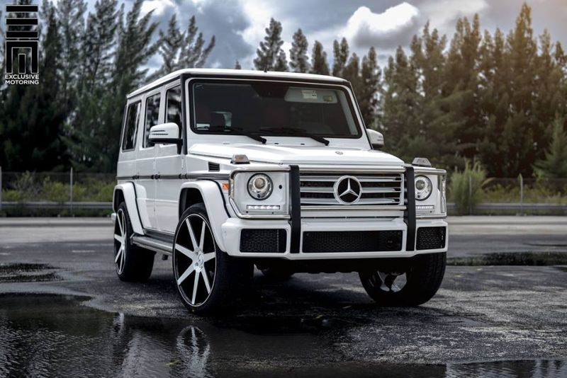 Mercedes-Benz G550 Niche Road Wheels Tuning Exclusive Motoring (12)