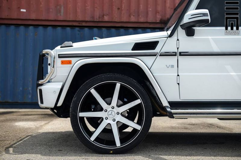Mercedes Benz G550 Niche Road Wheels Tuning Exclusive Motoring 2 Auffällig   Mercedes Benz G550 auf NRW Alu's by Exclusive Motoring