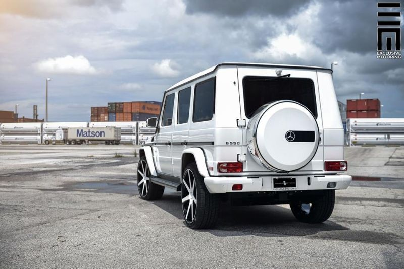 Mercedes Benz G550 Niche Road Wheels Tuning Exclusive Motoring 3 Auffällig   Mercedes Benz G550 auf NRW Alu's by Exclusive Motoring