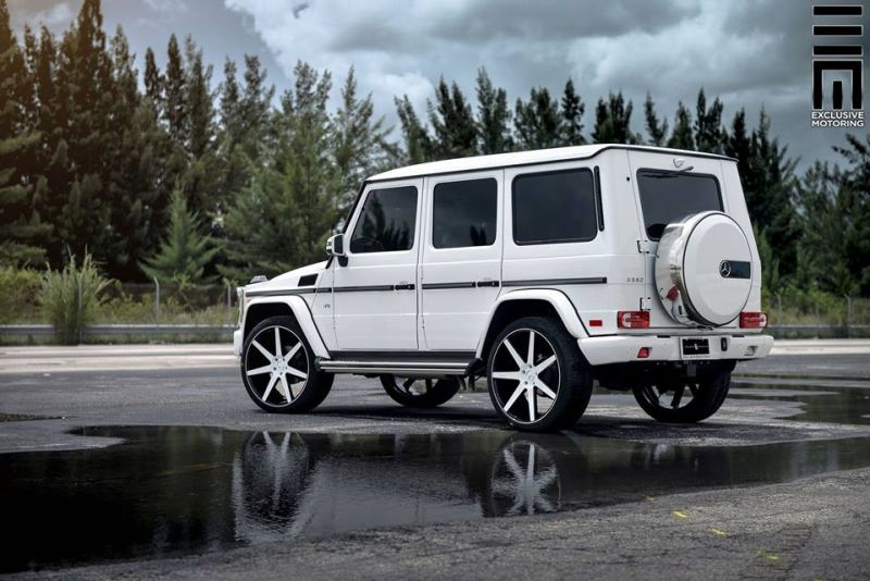 Mercedes Benz G550 Niche Road Wheels Tuning Exclusive Motoring 4 Auffällig   Mercedes Benz G550 auf NRW Alu's by Exclusive Motoring