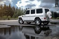 Mercedes Benz G550 Niche Road Wheels Tuning Exclusive Motoring 5 190x127 Auffällig   Mercedes Benz G550 auf NRW Alu's by Exclusive Motoring