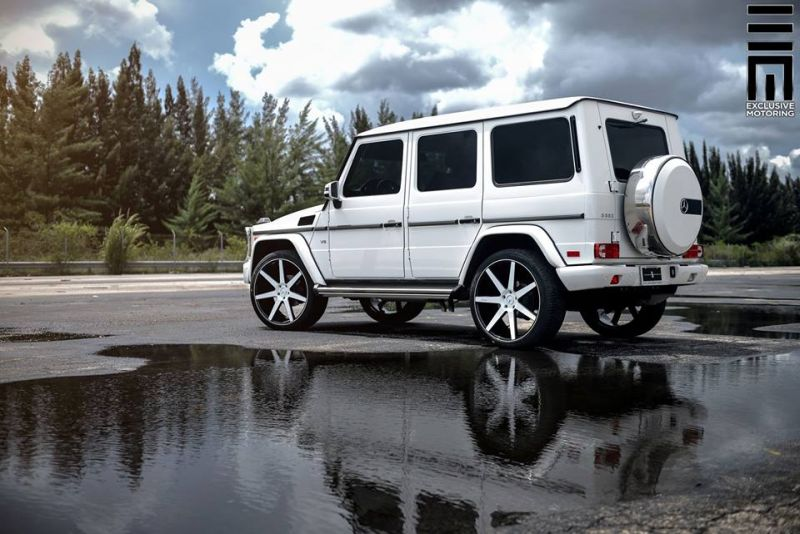 Mercedes Benz G550 Niche Road Wheels Tuning Exclusive Motoring 5 Auffällig   Mercedes Benz G550 auf NRW Alu's by Exclusive Motoring
