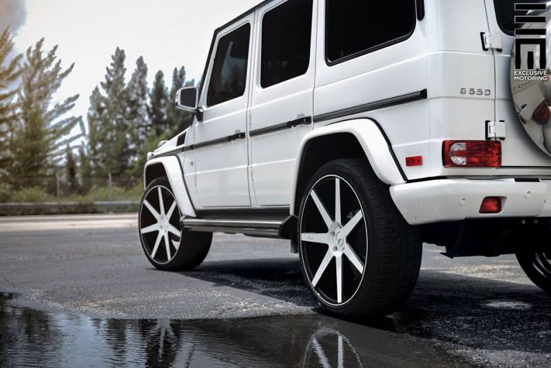 Mercedes Benz G550 Niche Road Wheels Tuning Exclusive Motoring 6 Auffällig   Mercedes Benz G550 auf NRW Alu's by Exclusive Motoring