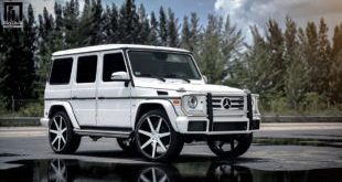 Mercedes Benz G550 Niche Road Wheels Tuning Exclusive Motoring 8 1 e1470287325628 310x165 Exclusive Motoring   BMW i8 in Mattweiß & goldenen Akzenten