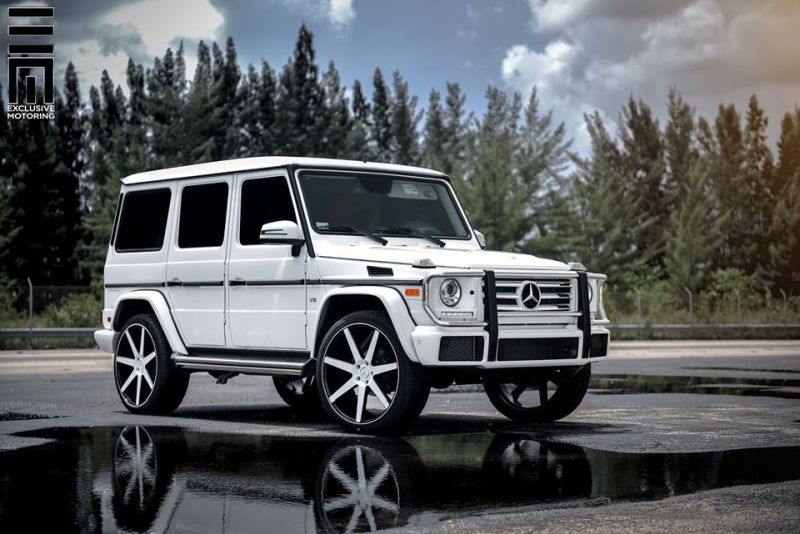 Mercedes-Benz G550 Niche Road Wheels Tuning Exclusive Motoring (8)