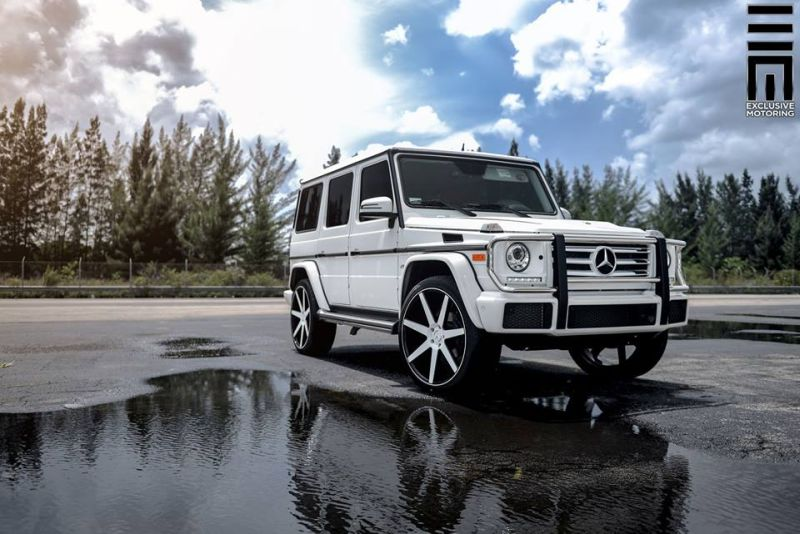 Mercedes-Benz G550 Niche Road Wheels Tuning Exclusive Motoring (9)