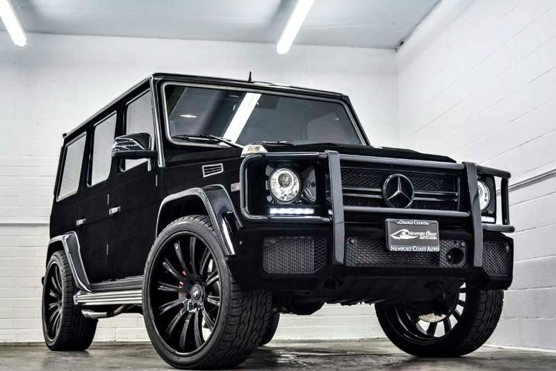 Mercedes-Benz G63 AMG Tuning Kylie Jenner Forgiato Wheels Samt (49)