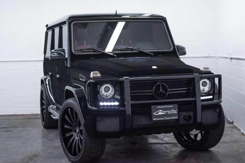 Mercedes-Benz G63 AMG Tuning Kylie Jenner Forgiato Wheels Samt (55)