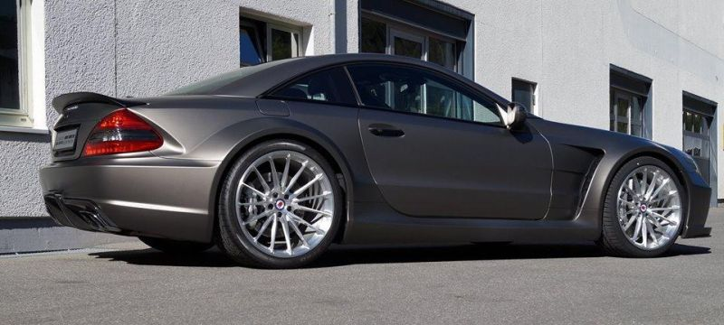 Mercedes SL65 AMG Black Series HRE P103 tuning 1 Mercedes SL65 AMG Black Series auf HRE P103 Alu's by cartech.ch