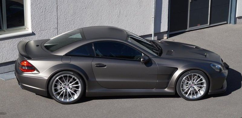 Mercedes SL65 AMG Black Series HRE P103 tuning 2 Mercedes SL65 AMG Black Series auf HRE P103 Alu's by cartech.ch
