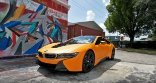 Metro Wrapz BMW i8 Matt Orange Folierung Wrap Tuning 1 1 310x165 Fotostory: BMW i8 im Jeff Koons Art Car Style by Metro Wrapz